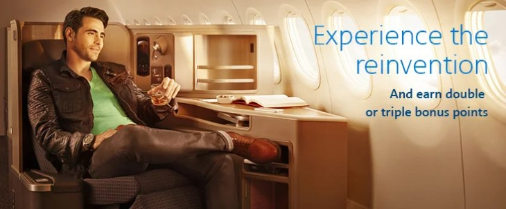 Fly Business Extra for bonus points