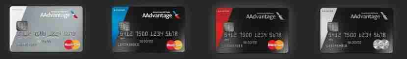 There are four AAdvantage Aviator cards that currently exist.