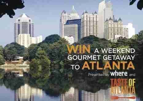 Win a gourmet trip to Atlanta