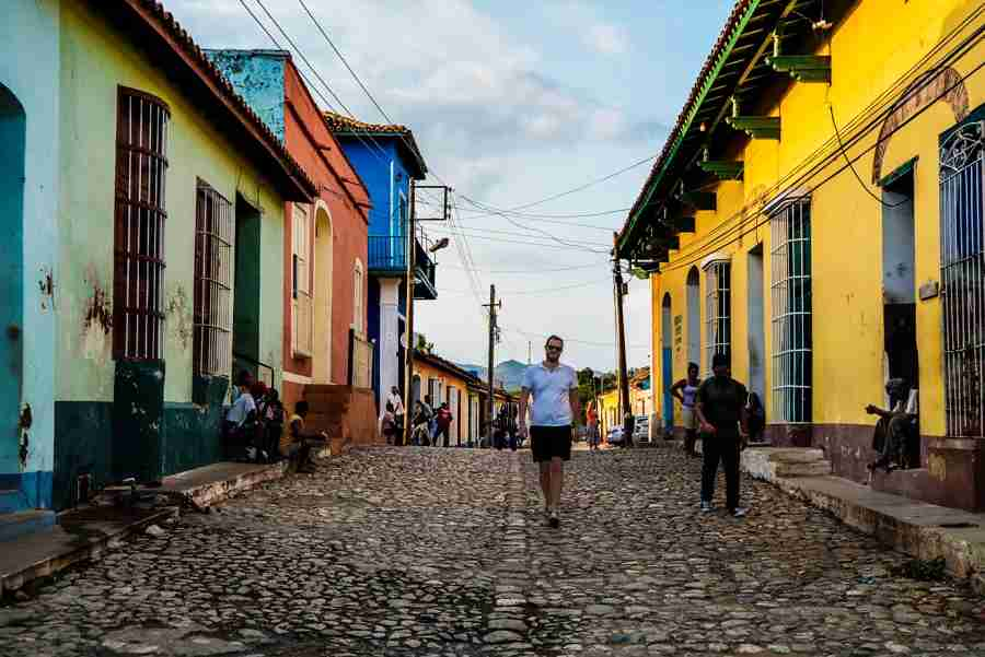 Happily roaming the streets of Trinidad. Photo by Julio Gaggia.