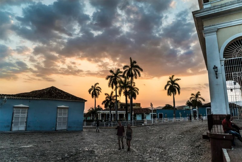 Trinidad has some gorgeous sunsets. Photo by Julio Gaggia.