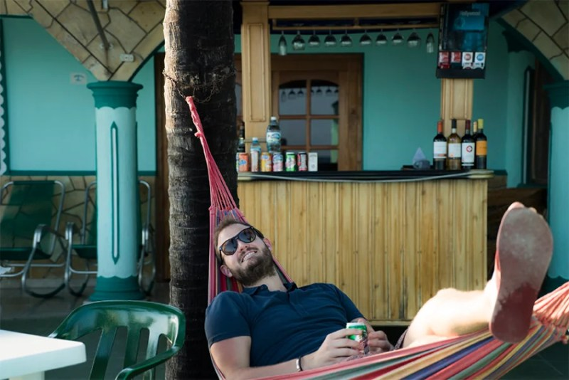 A little beach bar lounging is a must -do activity in Cuba