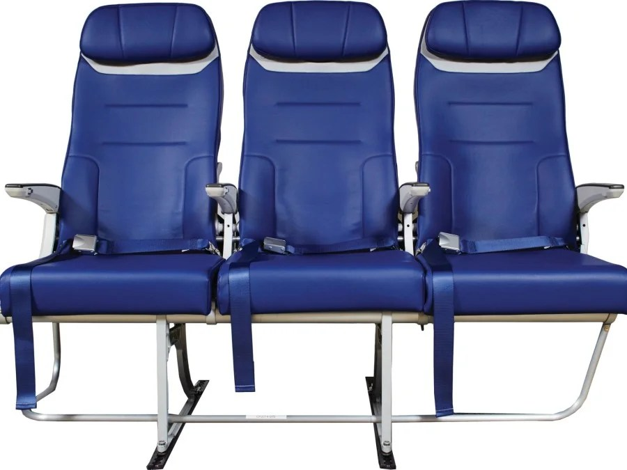 Superb The new Southwest seat ing soon to the aircraft Photo courtesy of Southwest