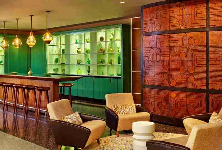 South Shore bar/lounge at the Royal Palm South Beach Miami