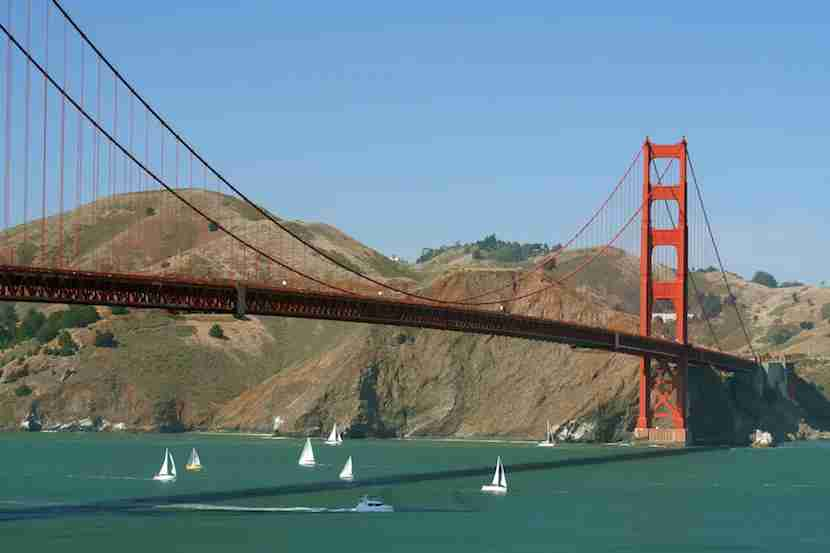 San Francisco Bay presents challenging conditions for sailors. Photo courtesy Shutterstock.