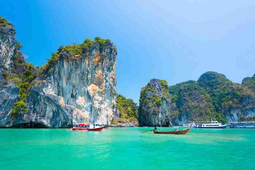 Phuket offers excellent waters for sailing. Photo courtesy Shutterstock.