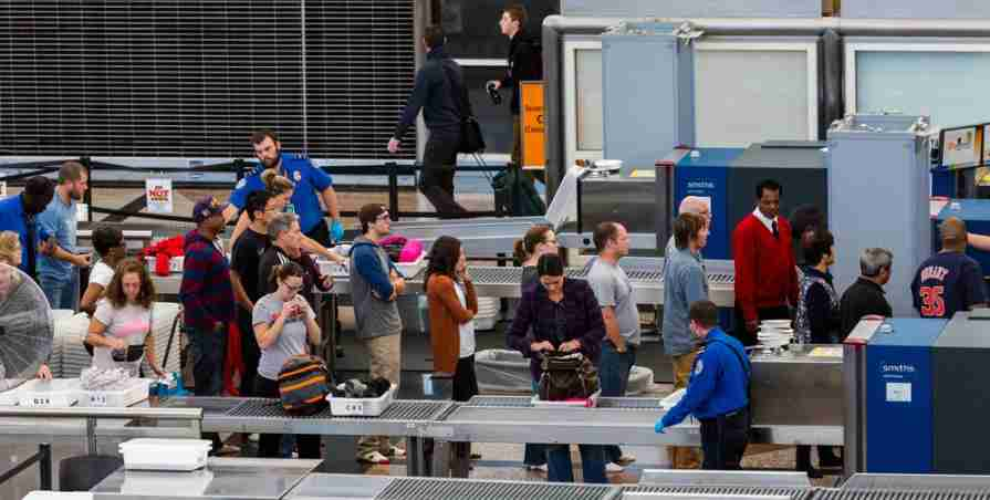Avoid these kinds of lines with TSA Precheck. Photo courtesy of Shutterstock.