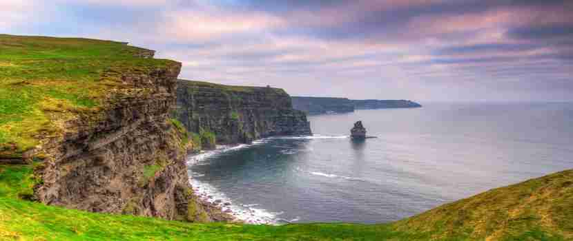 The Cliffs of Moher are an hour drive from Choice