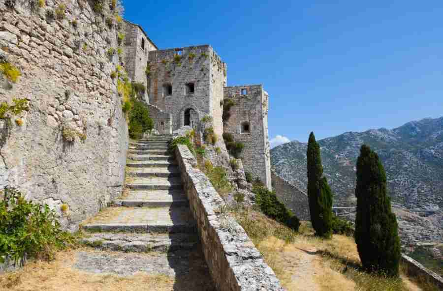 Klis Fortress (Photo courtesy of Tatiana Popova via Shutterstock)