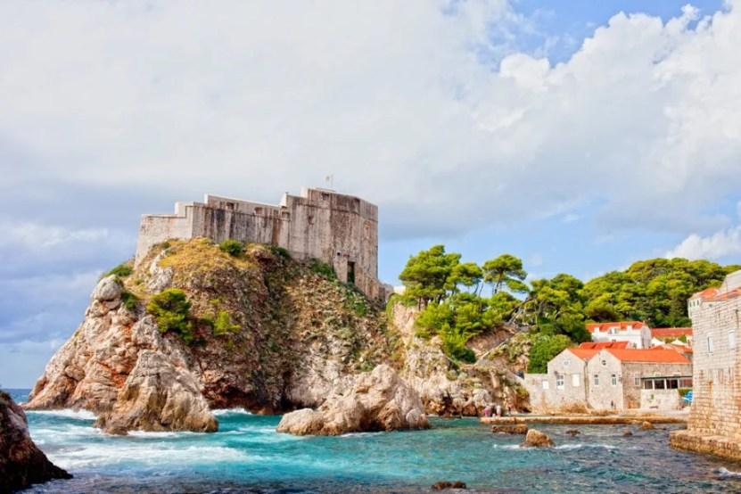 Fort Lovrijenac (Photo courtesy of Artur Bogacki via Shutterstock)