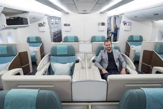 Korean Air Kosmo Suite