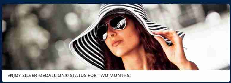 Get two months of complimentary Delta Silver status.