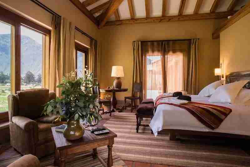 A guestroom at Inkaterra.