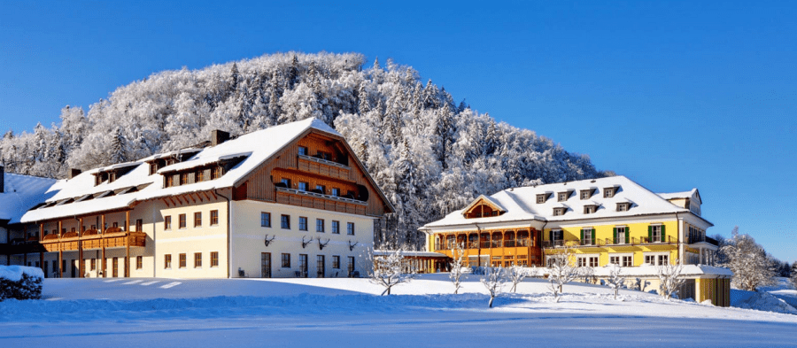 Enjoy an alpine-inspired stay at the Sheraton Fuschlsee outside of Salzburg