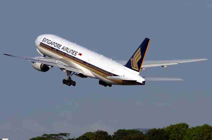 Singapore Airlines 777