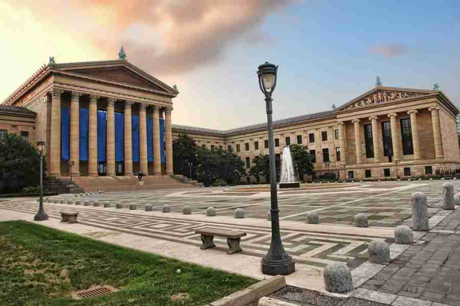 Philadelphia Museum of Art. Photo courtesy of Shutterstock.