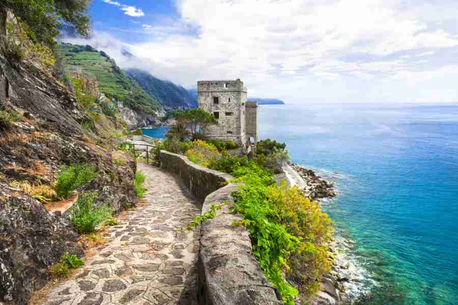 Monterosso is a breaktaking village with views for days! Photo courtesy of Shutterstock.