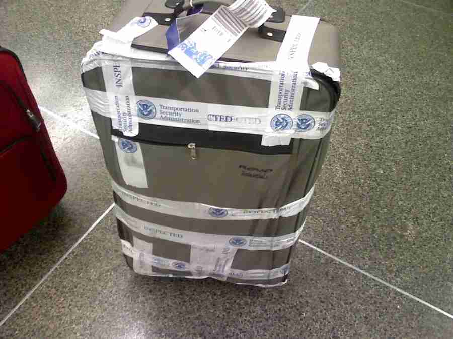 If the TSA tells you your bag has been screened, then rest assured — your bag has been screened. Photo by Clint McMahon / Flickr.