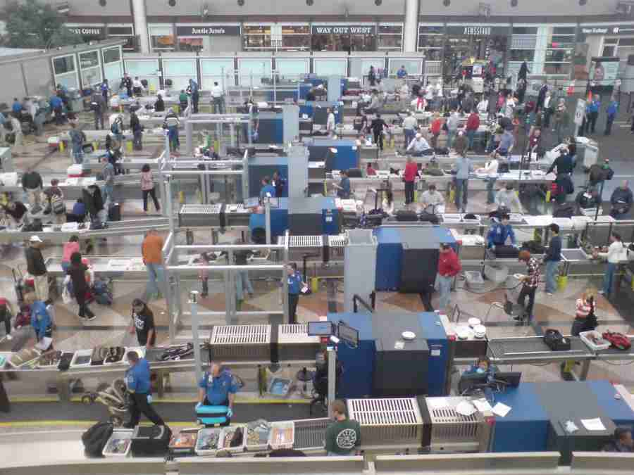 TSA airport security screening is a huge operation with a ton of high-tech equipment — but is it effective? Photo by Dan Paluska / Flickr.