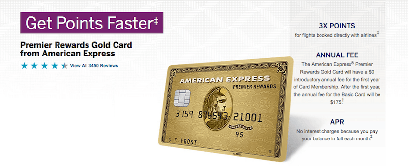You can earn 4 points per dollarwith the Amex Premier Rewards Gold card when booking through American Express travel.