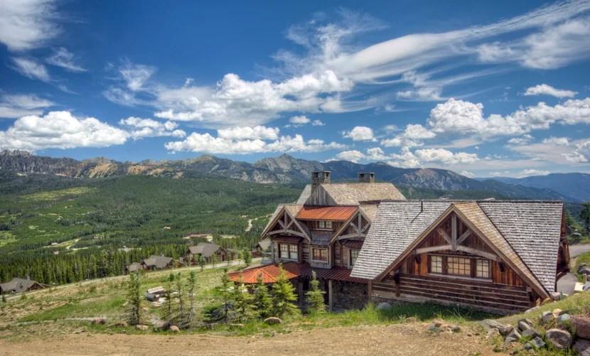 Cowboy Manor, in Montana's Moonlight Basin. Photo courtesy of BigSky Luxury Rentals.