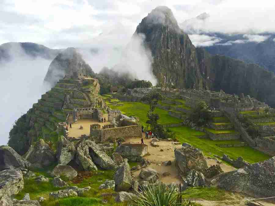 Hidden for years high in the mountains of Peru, Machu Picchu isn