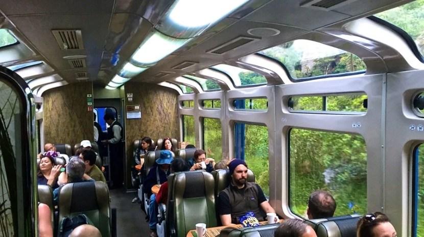 All aboard Peru Rail's Vistadome!