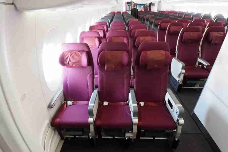 Like on other aircraft, all economy seats aren