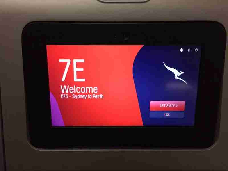 Qantas uses its new Q Stream service for in-flight entertainment.