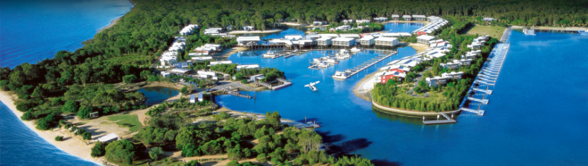 Combine the feel of a private island with the amenities of a luxury hotel, and you get the Ramada Couran Cove Resort in Australia
