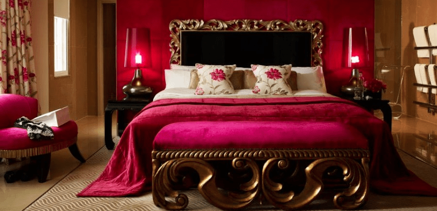 The luxuriously appointed rooms make The May Fair in London a true five-star hotel.