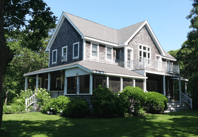 This entire home on Nantucket goes fro $350 a night on Airbnb.