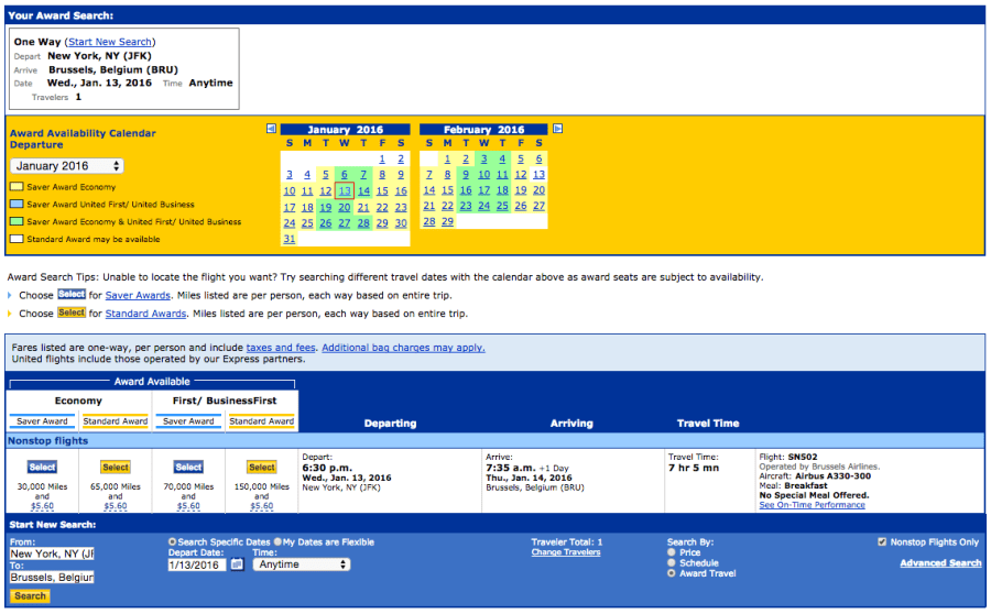 Brussels Airlines is now available to book on United.com.