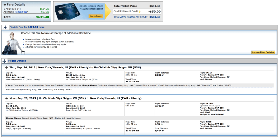 United to Newark for $631 round-trip.