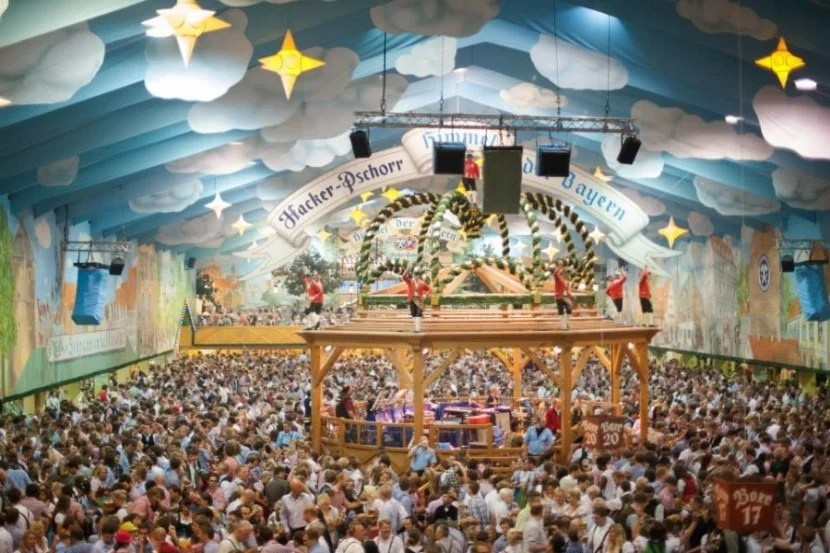With over 6 million visitors each year, Munich's Oktoberfest dwarfs the size of all other beer festivals. Photo courtesy of the festival site.