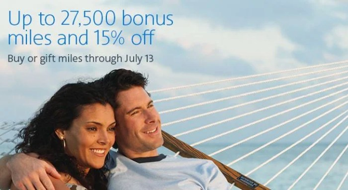Earn bonus miles and get 15% off when buying AA miles