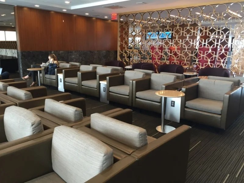 Almost every seat had access to a power outlet — thankfully.