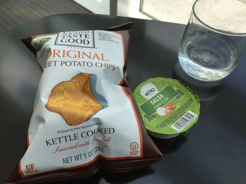 They did have free chips and salsa — that became my lunch after my sandwich debacle.