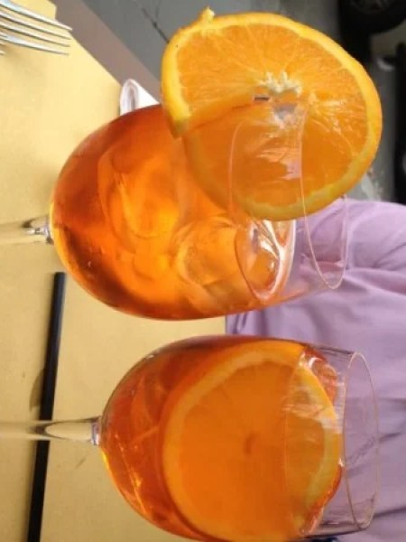 You haven't been to Rome until you've had a good Aperol Spritz.