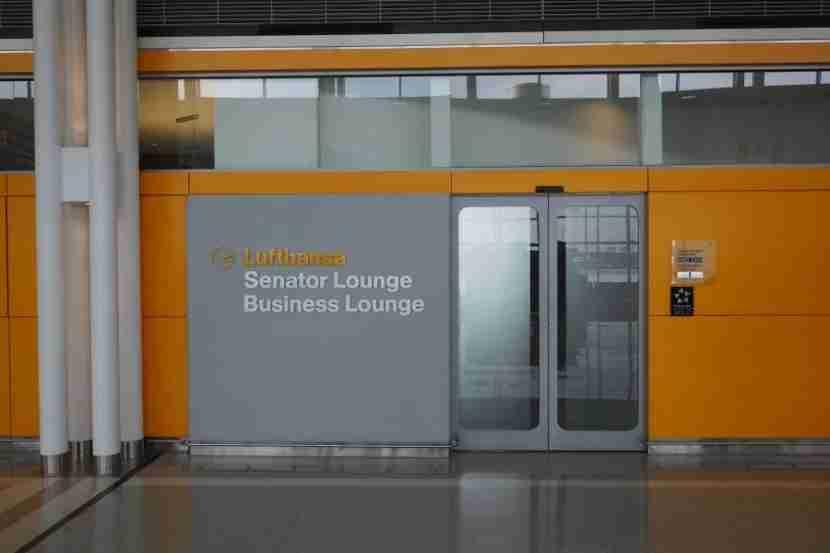 The Lufthansa Business and Senator Lounge in Washington.