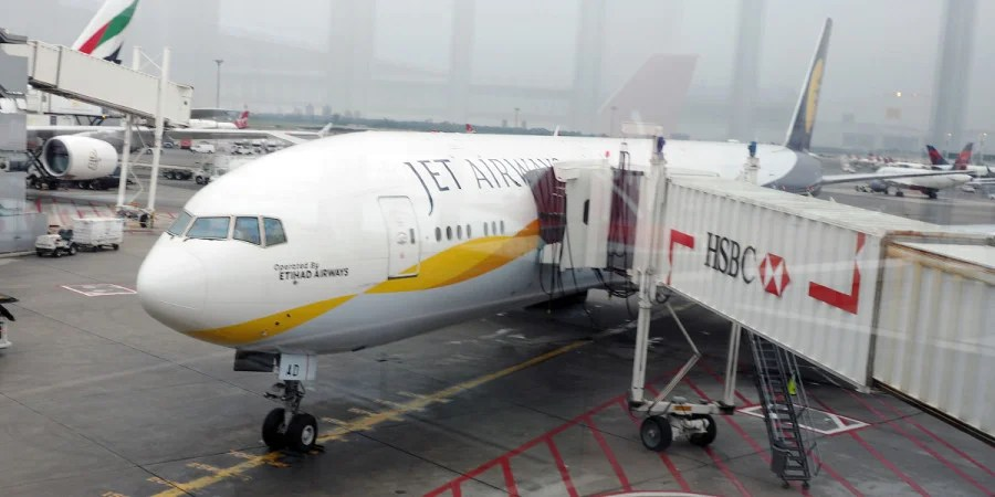 My flight was on a Jet Airways plane, rather than an Etihad-branded one.