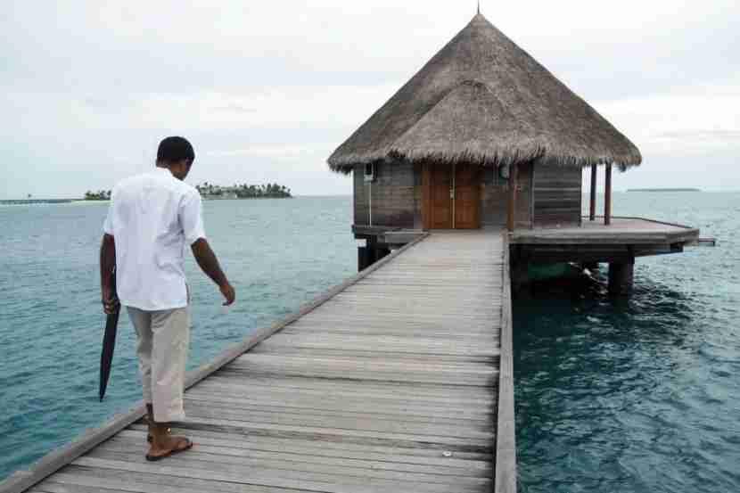 Ithaa Underwater Restaurant - Outside