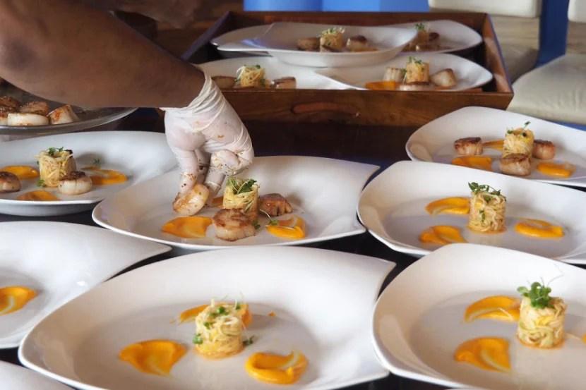 Ithaa Underwater Restaurant - Scallops