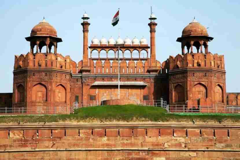 Visit the Red Fort in Delhi. Photo courtesy of Shutterstock.