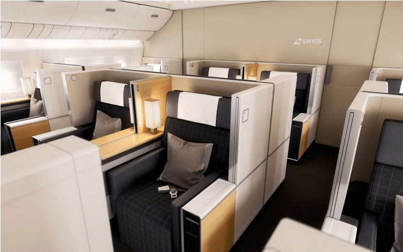 Fly in some of the best seats in the sky... for a short flight intra-Europe.