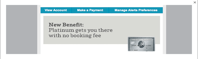 No more booking fees via the Platinum card won't recoup a $450 annual fee, but every little bit helps.