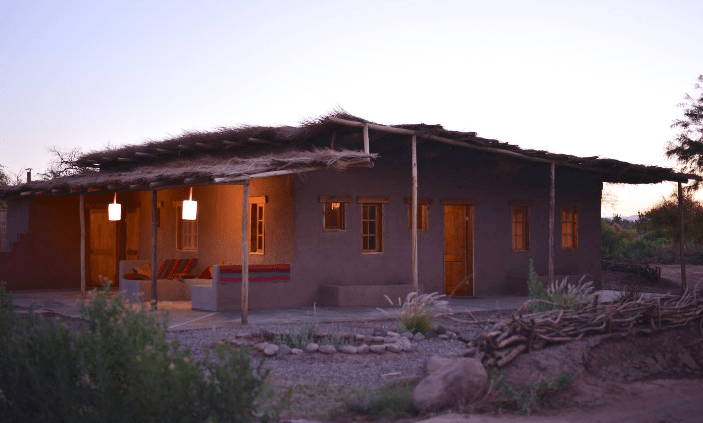 The most expensive listing on Airbnb for San Pedro de Atacama is this three-bedroom home, which goes for $300 per night. Photo courtesy of Airbnb.