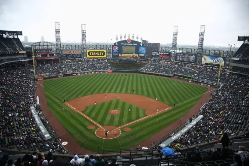U.S. Cellular Field in Chicago, Illinois. Photo courtesy of the stadium.