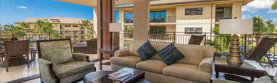 The property boasts the largest villas on Kauai.
