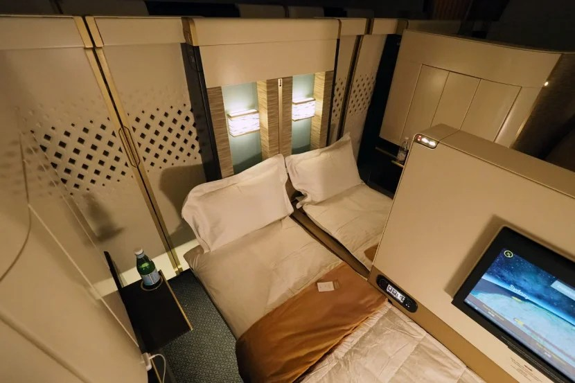 Etihad A380 The Apartment - Double Bed